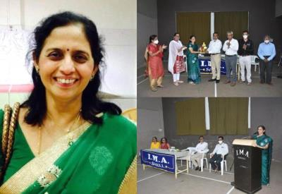 NMCF President Dr. Madhavi Patwardhan elected President of Indian Medical Association- Sangli